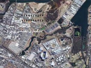 تهیه نقشه جانمایی پلاک ثبتی با تفسیر عکسهای هوایی