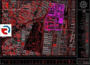 نقشه UTM ملک و جانمایی پلاک ثبتی بر اساس سند