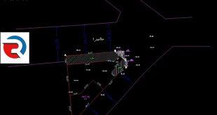نقشه UTM با کد ارتفاعی برای شهرداری تهران